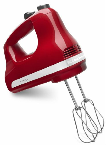 New Kitchenaid Made in USA 5-speed Ultra Power Hand Mixer Khm512er Empire Red Best Product the Best Gift Fast Shipping Ship Worldwide , Wanrasa Shop