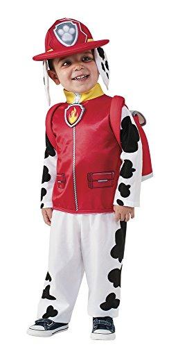 Patrulla Canina - Disfraz Marshall, 3-4 años (Rubies 610501-S)