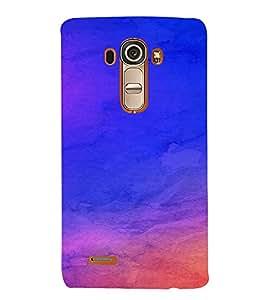 PrintVisa Blue Design 3D Hard Polycarbonate Designer Back Case Cover for LG G4