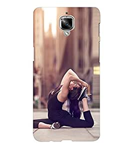 EPICCASE Fit and Fine Mobile Back Case Cover For OnePlus Three (Designer Case)