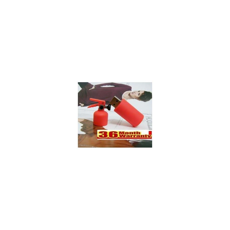 Cool Fire Extinguisher Shape 8gb Usb Flash Drive