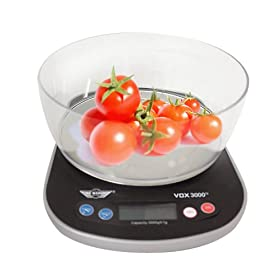 My Weight Vox 3000 Talking Kitchen Scale