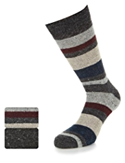 2 Pairs of North Coast Socks with Wool