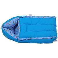 Jack & Jill Baby Bedding set/ Baby Carrier/ Sleeping Bag/ New Born/Just Born - Blue (S)