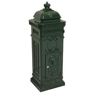 Englischer Standbriefkasten Grün Briefkasten Postkasten Antik Stil Jugendstil  Bewertungen und Beschreibung