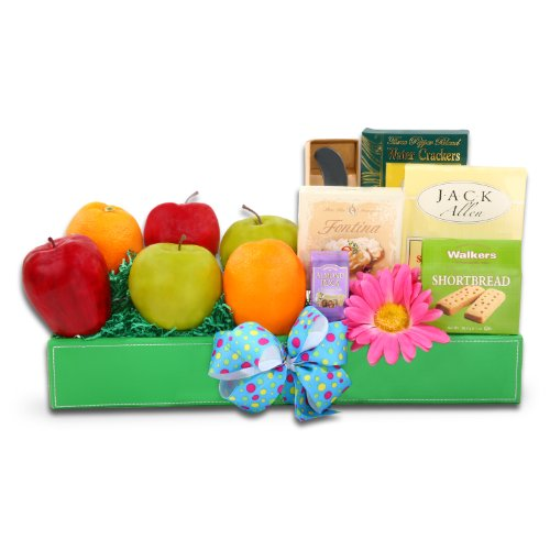 Refreshing Spring Gourmet Easter Gift of Fruit,
