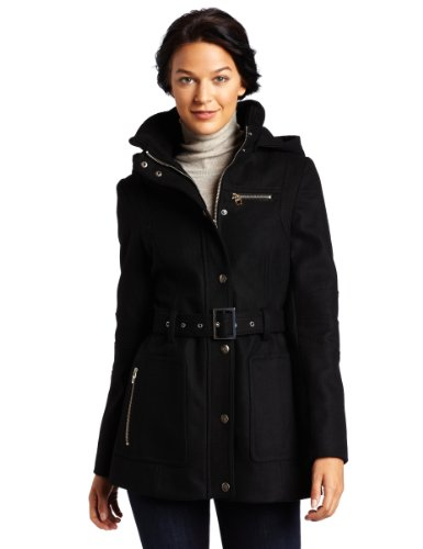 41kRPeCOZmL Miss Sixty Womens Belted Wool Coat
