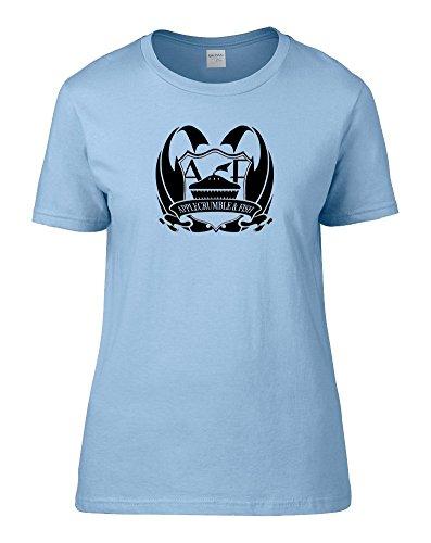 FatCuckoo -  T-shirt - Colletto crew  - Maniche corte - Donna Light Blue X-Large