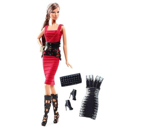 Top MATTEL Barbie Collector - Hervé Léger Barbie doll