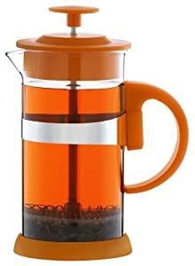 Grosche Zurich French Press (Small (350ml - 12oz), Orange)