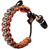 Gerber GE31-001773 Bracelet de survie Bear Grylls Gris/orange