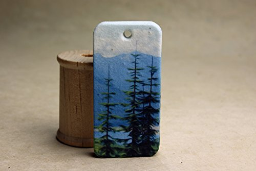 cascade-mountain-trail-gift-tag-set-of-20-seed-paper-hangtags-3-long-by-15-wide-by-of-the-earth