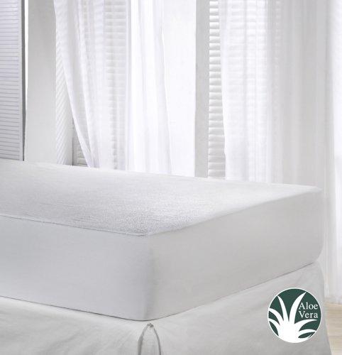 VELFONT-Matratzenschoner-Aloe-Vera-Wasserdicht-und-Atmungsaktiv-verfgbar-in-verschiedenen-Gren-200x190200cm