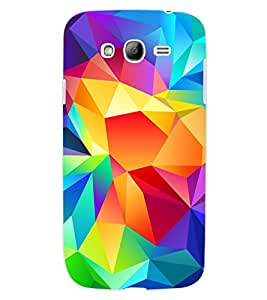 ColourCraft Colourful Pattern Design Back Case Cover for SAMSUNG GALAXY GRAND Z I9082Z
