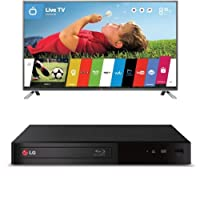 LG Electronics 60LB6300 60-Inch 1080p 120Hz Smart LED TV with BP340 Blu-Ray Disc Player