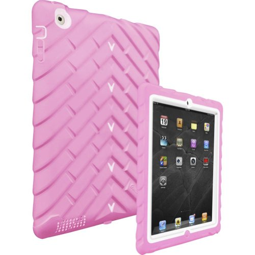 GumDrop Drop Tech Series Case for Apple iPad2 (Pink/White)