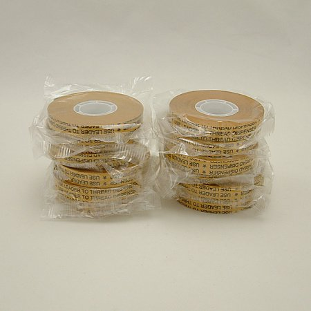 Jvcc Atg-7502 Atg Tape (Acid Neutral): 1/2 In. X 36 Yds. (Clear Adhesive On Gold Liner) [12 Pack]