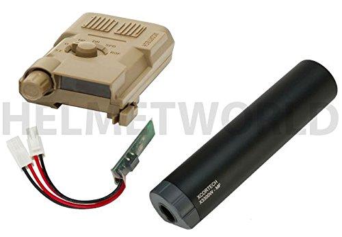 AIRSOFT XCORTECH X3300W TRACER UNIT TORCH BB'S CHRONOGRAPH MOSFET ALL IN 1 TAN günstig online kaufen