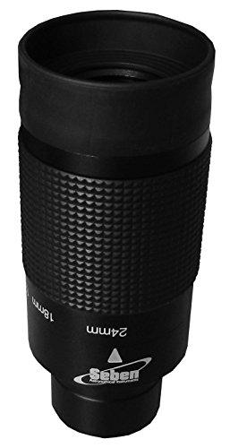 """Oculaire Zoom FMC 8-24mm 31,7mm (1,25"""") pour télescopes, de Seben"""