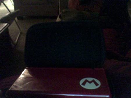 Nintendo DS Lite - Mario Red Limited Edition