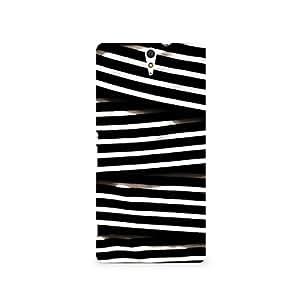 TAZindia Designer Printed Hard Back Case Cover For Sony Xperia C5
