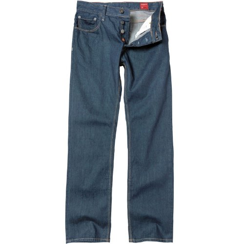 Duck and Cover Mens Carbon Jeans Raw Resin
