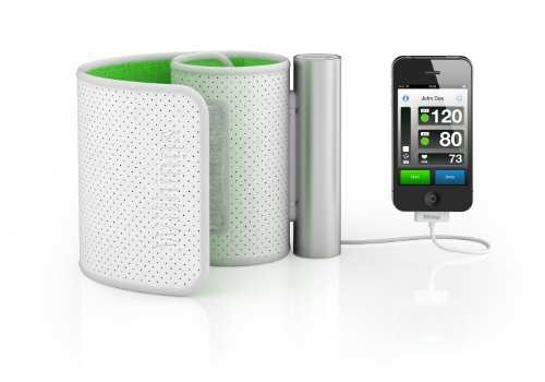 Withings BP-800 Blood Pressure Monitor, White/Green