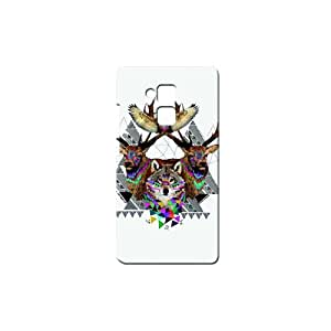 Bluedio Designer Printed Back case cover for Huawei Honor 5C - G4694