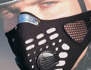 RESPRO-large-Pawabarubu-equipment-mesh-specification-sports-model-sports-data-mask-black-M