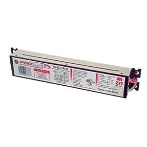 GE Lighting 23671 GE232-120-N 120-Volt ProLine Electronic Linear Fluorescent T8 Standard Instant Start Ballast 2 or 1 F32T8 Lamps