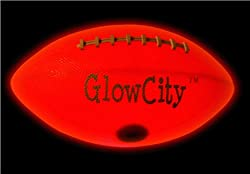 Official Size LED Light Up Football-Tough-Rugged-Better Than Glow In The Dark from GlowCity