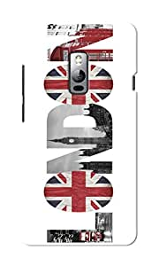 CimaCase London Designer 3D Printed Case Cover For OnePlus Two