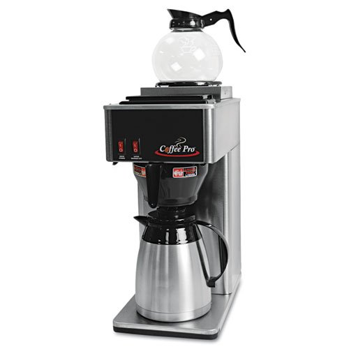 Original Gourmet Food Co. CPTB Thermal Institutional Brewer44; Stainless Steel