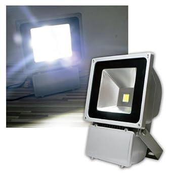 LED IP65 Aussenbeleuchtung Bau Strahler Haus Hof Garten Fluter ECO 20W kaltweiß