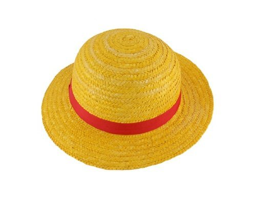 One piece anime monkey d luffy straw hat cap cos apparel