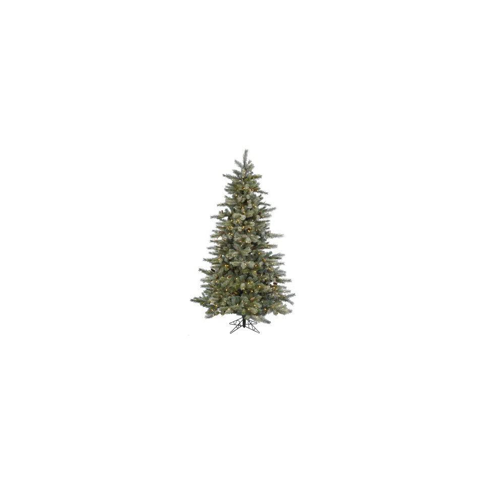 Vickerman Frosted Sartell Pre lit LED Christmas Tree
