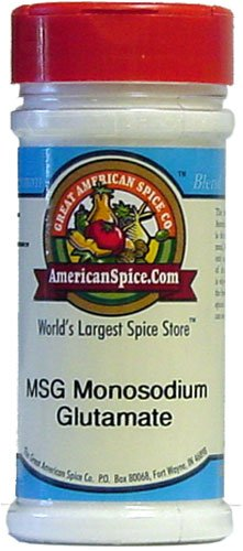 MSG FRESHLY PACKED IN LARGE JARS at Amazon.com