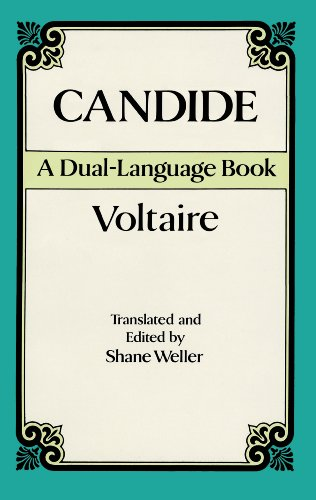 the poke holes in the major philosophies in candide a novel by voltaire