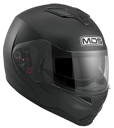 AGV Helmets 2002A4D0_002_L Casque Intégral MD200 MDS E2205, Noir (Flat Noir), L