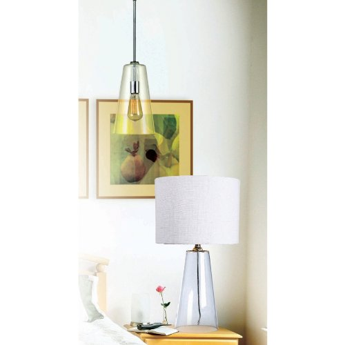 Kenroy Home 91578CH Boda 1-Light Pendant