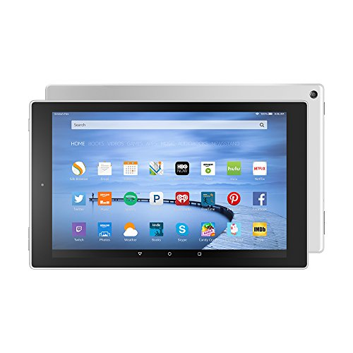 "Discover Bargain Fire HD 10, 10.1"" HD Display, Wi-Fi, 32 GB - Includes Special Offers, White"