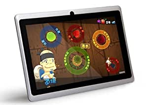 ZTO 7-Inch Android 4.1 4GB Capacitive Multi-Touch Widescreen Tablet Built-In Dual Cameras White N1 Plus