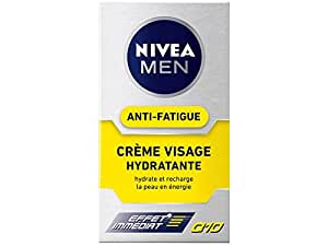 Nivea Men Crème Visage Hydratante Q10+ Anti-Fatigue 50 ml