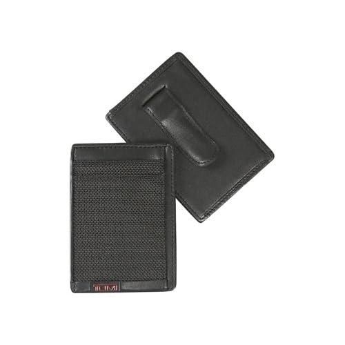 TUMI トゥミ ツミ ALPHA SLG マネークリップ・カードケース 019251D ブラック MONEY CLIP CARD CASEメンズ 並行輸入 正規品