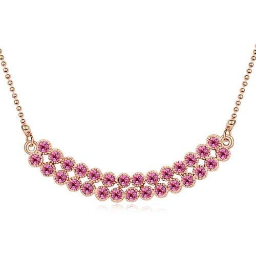 Boxingcat Fine Jewelry Swarovski Style Clear Austrian Crystal Pendant Necklaces Bgca10223 front-364909