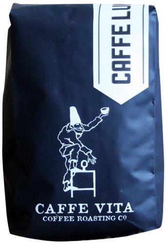 Caffe Vita Caffe Luna Whole Bean (Dark), 12 oz (Vita D Sol compare prices)