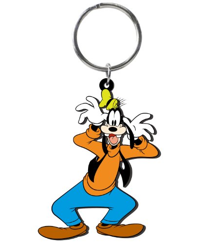 Disney Goofy Soft Touch PVC Key Ring