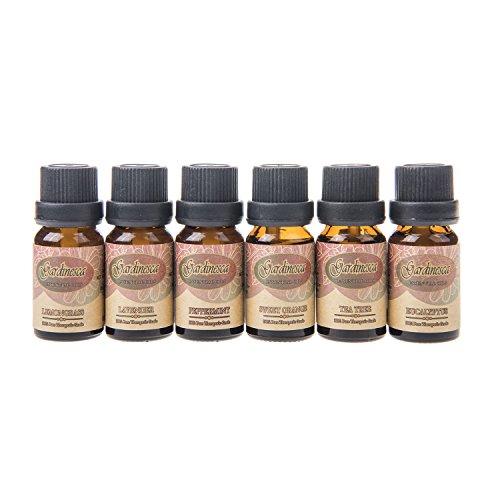 Gardinesca 6-Piece Essential Oil Set, 10ml