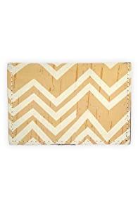 Fluffy Co Chevron Leather Card Case