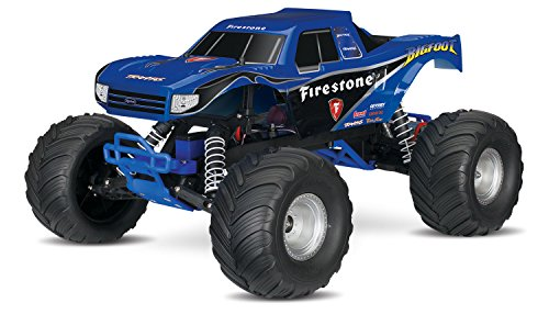 Traxxas Bigfoot: 1/10 Scale Ready-To-Race Monster Truck with Tq 2.4Ghz Radio System, Blue (Traxxas Truck compare prices)